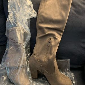 Tall Macy's brand boots